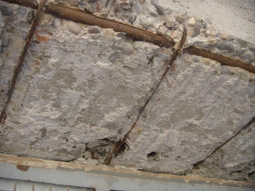 C mo reparar o no las varillas oxidadas del hormig n - Como poner fibra de vidrio ...