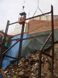 Esfondrament c/ Sant Antoni Mataró